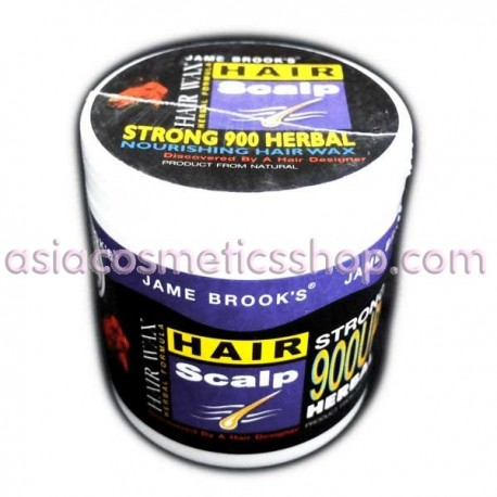 Jame Brooks Herbal Hair Wax, 400 ml