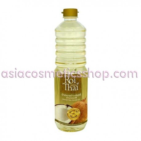 Roi Thai Coconut Cooking oil 100%, 1000 ml