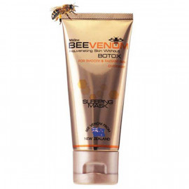 Mistine Bee Venom Sleeping Mask Without Botox Smooth Radiant Skin Anti-Wrinkle, 40 g