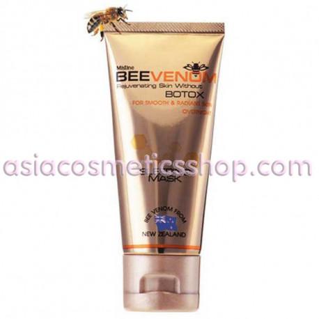Mistine Ночная маска для лица с пчелиным ядом от морщин, 40 г