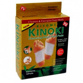 Kinoki Cleansing Detox Foot Pads 10 pcs