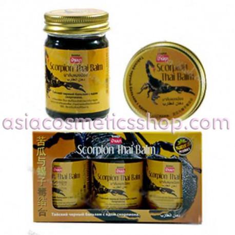 Banna Scorpion Black Balm, Set 3 pcs