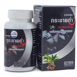 Capsules for Men Kra Chai Dum, Sexual Enhancement, 100 pcs