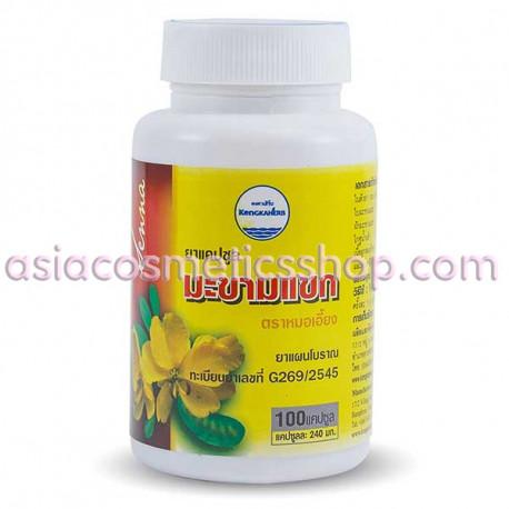 Капсулы слабительные, senna alexandrina, 100 шт