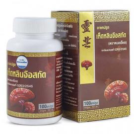 Kongka Herb Капсулы с экстрактом грибов Линчжи, 100 шт