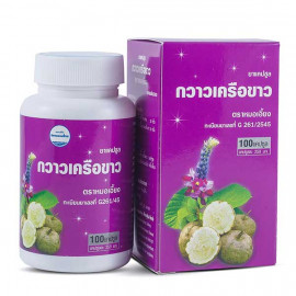 Kongka Herb Capsules Pueraria Mirifica for breast augmentation, 100 pcs