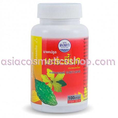 Kongka Herb, капсулы Горький огурец - Лечение диабета, 100 шт.