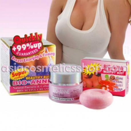 Крем и мыло для укрепления и увеличения груди, 110 г