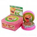 Розовая отбеливающая зубная паста с гвоздикой, 25 г