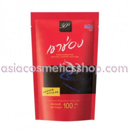 Khao Shong Быстро растворимый кофе с карамелью, 100 г
