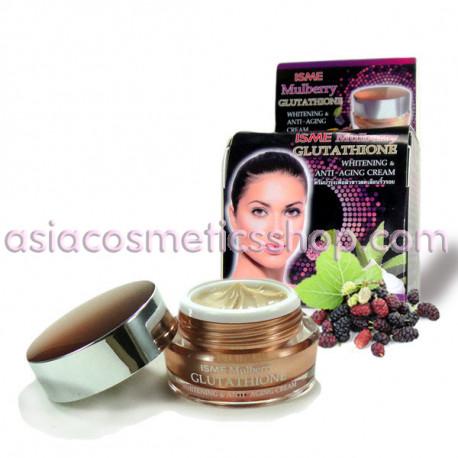 ISME Mulberry Glutathione Whitening &Anti- Aging Cream 10 g