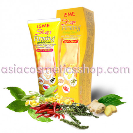 Anti cellulite hot cream Herbal Cream Firming Shape, 120 g