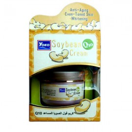 Moisturizing face cream with soy protein and Q10, 50 g