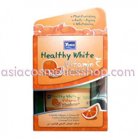 Антивозрастной питательный и увлажняющий крем для лица с витамином С, 50 г