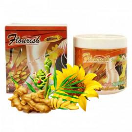 Flourish Разогревающий антицеллюлитный крем с имбирем и маслом подсолнечника, 500 мл