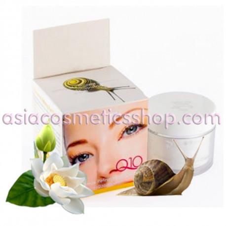 Pannamas Крем для кожи вокруг глаз Q10 и стволовыми клетками улитки, 50 мл