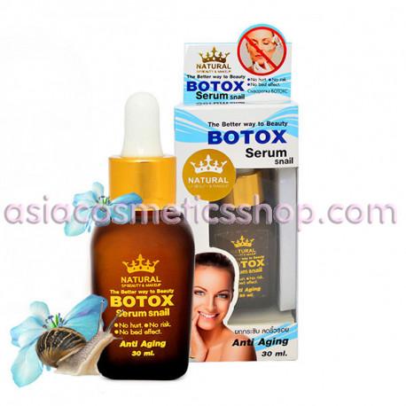 Anti-aging Botox snail serum, 30 ml