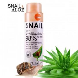 T.L BAI Moisturising emulsion with Aloe and snail face, 200 ml
