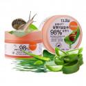 T.L BAI Успокаивающий крем-гель с алоэ и улиточным экстрактом, 50 г