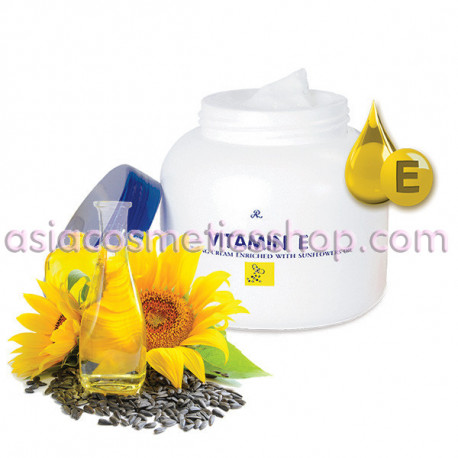 Cream for face and body with vitamin E and sunflower oil, 200 g