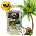 Tropicana Coconut oil is 100% cold pressed, 1000 ml