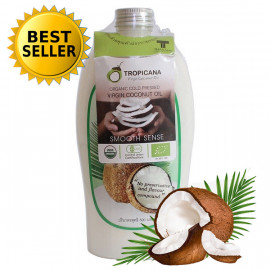 Tropicana Extra Virgin Cold press Coconut Oil 100%, 500 ml