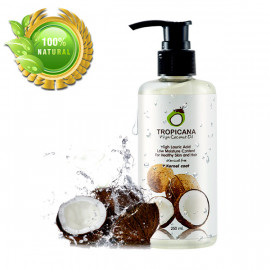 Кокосовое масло 100% холодного отжима Tropicana, 250 мл