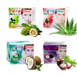 Banna Увлажняющие крема с экстрактами фруктов и коллагеном, 80 г