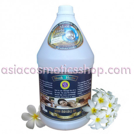 Mook Herbs Massage Oil 3 L