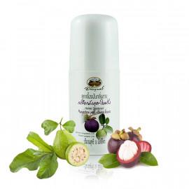 Abhaibhubejhr Травяной роликовый дезодорант с мангостином и гуавой, 50 мл
