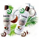 Inecto Увлажняющий шампунь и кондиционер для ослабленных волос на основе кокосового масла,  500 мл