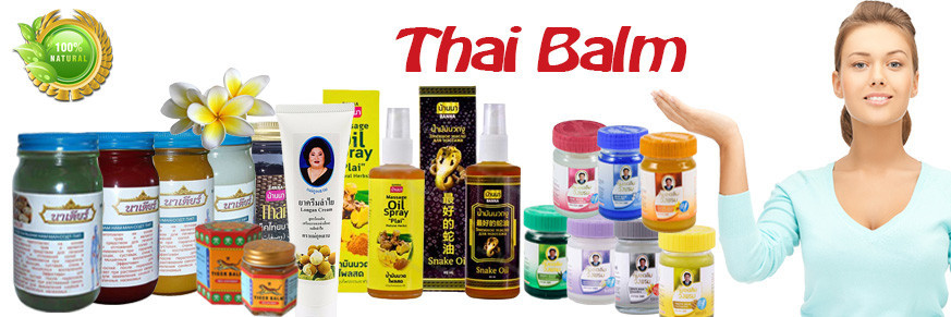 Thai balms, ointments, herbal tinctures